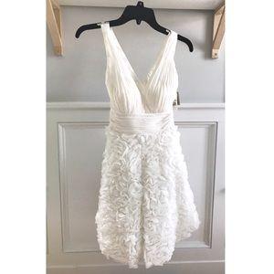 Aidan Mattox Rosette Wedding Dress